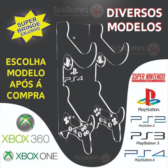 Suporte Controle Xbox One, Ps4 Ou Xbox 360 Mesa Ou Parede