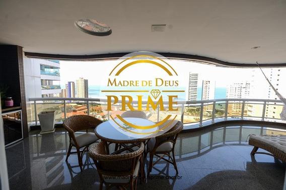 Apartamento Com 4 Dormitórios À Venda, 401 M² Por R$ 5.800.000,00 - Meireles - Fortaleza/ce - Ap2016