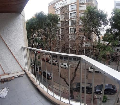 Alquiler Apartamento Pocitos Un Dormitorio Al Frente Balcón