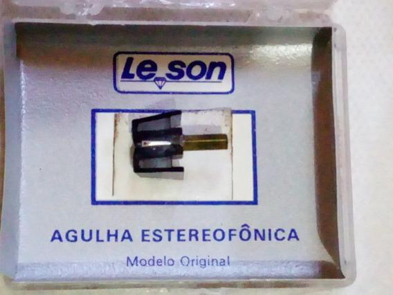 Agulha Lê Son Magnética Stereo Para Vitrola Modelo S2000