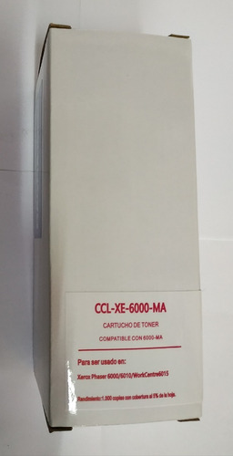 Cartucho Compatible Xe-6000 Mag Xerox  Phaser 6000 / 6010