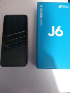 Celular Samsumg J6 2018 32gb Dual Sim, Usado (unico Dueño)