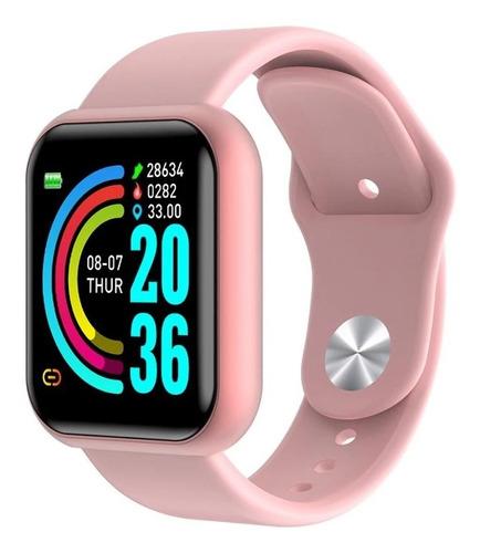 Imagen 1 de 2 de Reloj Inteligente Smartwatch D20 Led Bluetooth Ios Android