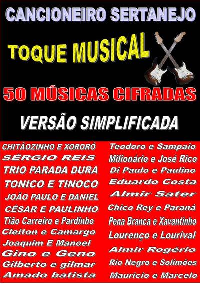 Revista De Música,sertaneja Raiz Cifradas Frete Gratis