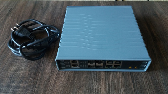 Kit - Switch 8 Portas + Mini Gbic Sfp Datacom + Cabo De Rede