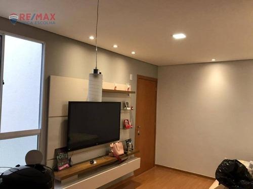 Apartamento Com 2 Dormitórios Para Alugar, 45 M² Por R$ 1.020,00/mês - Jardim Guarujá - Sorocaba/sp - Ap3076