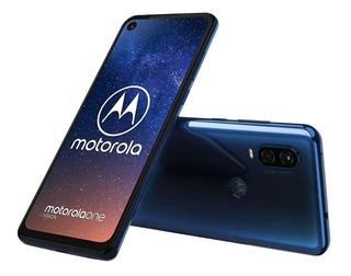 Motorola One Vision Dual Sim 128gb Azul Safira 4gb Ram