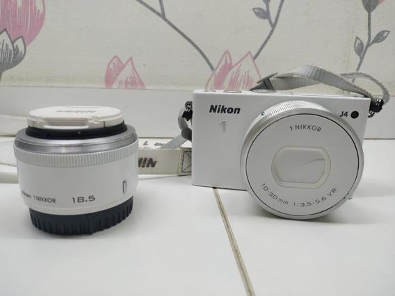 Câmera Nikon 1 J4 Mirrorless Com 2 Lentes