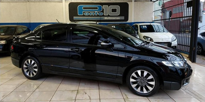 Honda Civic Lxl Se 1.8 Flex Automático Multimidia Rodas Top
