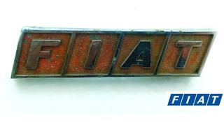 Insignia Parrilla (orginal) Fiat 128 Berlina Panel De Abeja