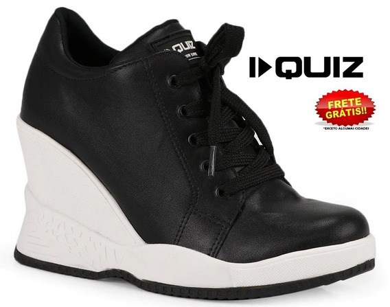 Tênis Quiz Sneaker 67-19901 Feminino Original + Mais Cores