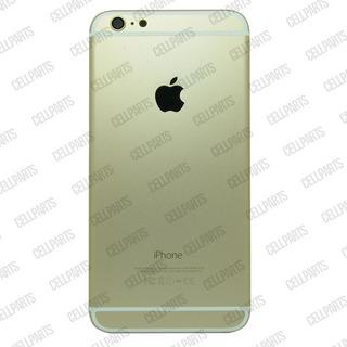 Carcaça iPhone 6 Plus Dourada + Botões E Bandeja De Sim Card