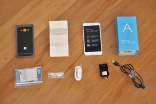 Samsung Galaxy A7 Sm-a700fd Branco 16gb + 64gb Sd Classe 10