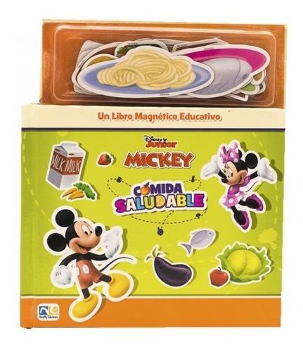 Mini Libro Magnetico Comida Saludable Mickey
