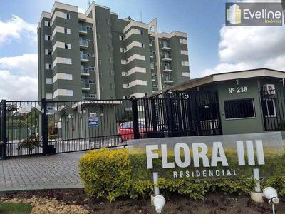 Flora Iii - Apartamento Para Venda E Locação - 2 Dms - Mogilar - A860