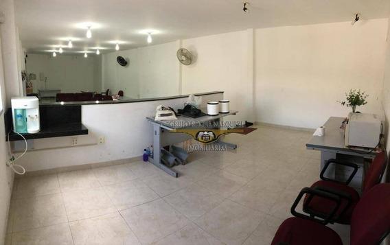 Salão Para Alugar, 100 M² Por R$ 2.500,00/mês - Vila Carrão - São Paulo/sp - Sl0167