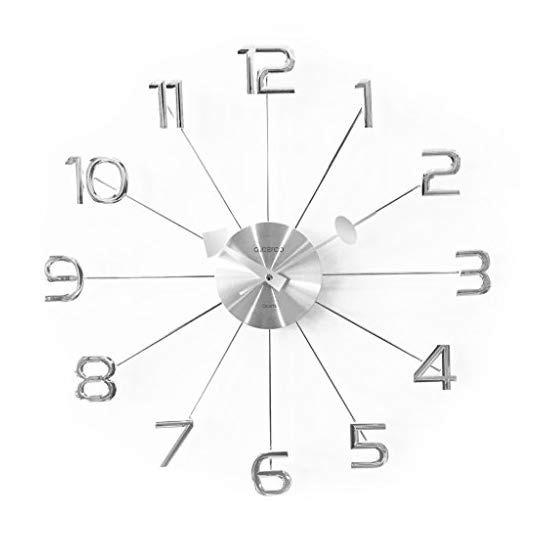 Reloj De Pared Con Diseño Moderno | 48 Cm