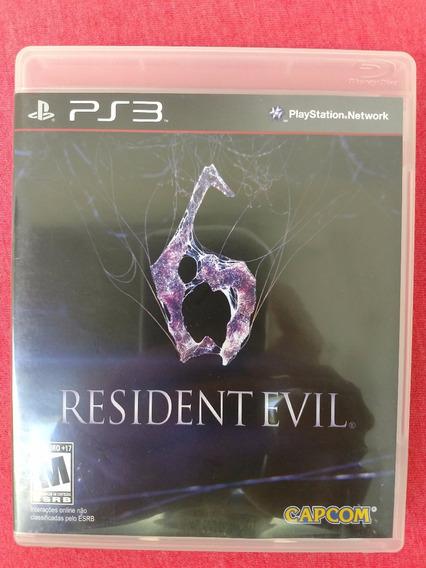 Resident Evil 6 Ps3 Midia Fisica Frete R$10