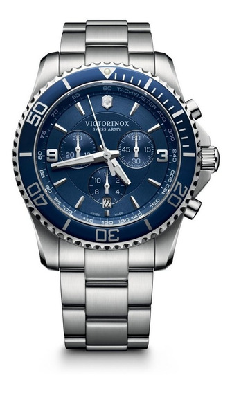 Relógio Victorinox Maverick Chrono Azul 241689