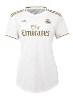 Feminina Real Madrid Uniformes 1, 2 E 3 Personalize Grátis