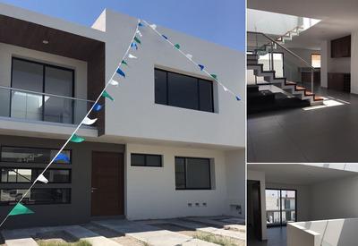 Preciosa Residencia En La Condesa Juriquilla, 3 Recámaras, 4 Baños, Premium !!