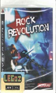Legoz Zqz Rock Revolution - Ps3 Disco Sellado Ref - 261