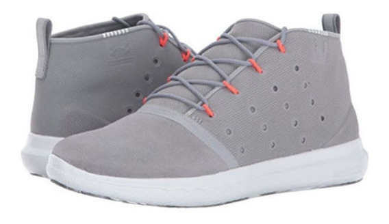 Zapato Tenis Mujer Casual Under Armour Gris Claro 6.5-4.5