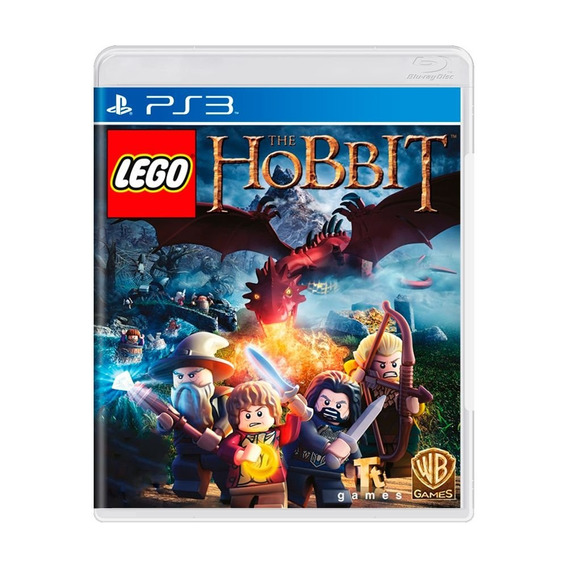 Jogo Kit Lego O Hobbit + Filme Blu-ray Pra Playstation Ps3