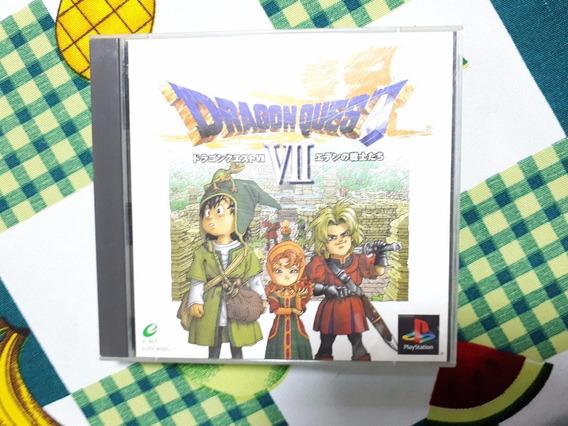 Dragon Quest Vii 7 Original Completo Playstation Ps1 D11