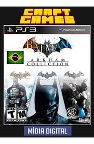 Batman Arkham Asylum + City + Origins Ps3 Psn Envio Imediato