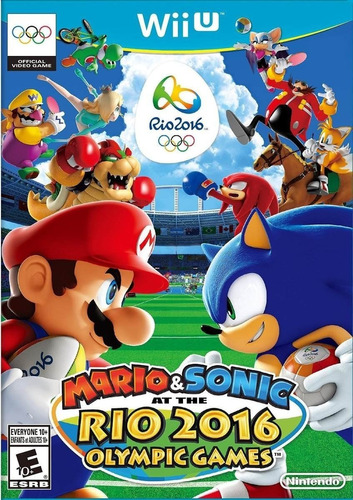 Mario & Sonic At The Rio 2016 Olympic Games Wii U Cdkey