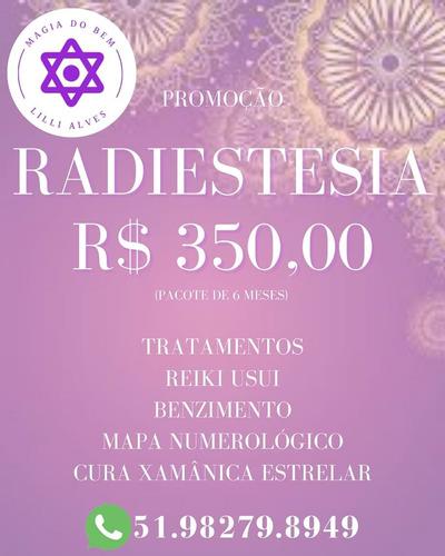 Radiestesia - Pacote Promocional  (6 Meses)