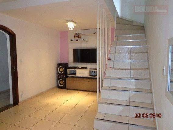 Sobrado 03 Dorms - 02 Vg De Garagem - Vila Prel - So0228