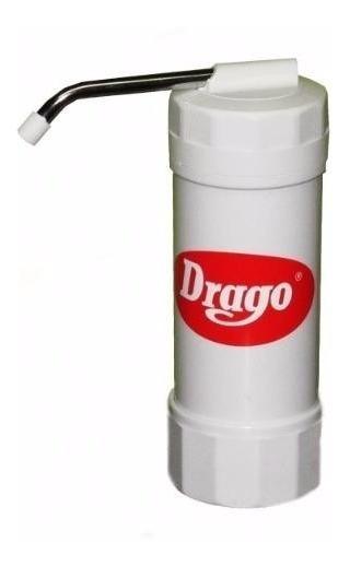 Filtro De Agua Purificador Drago Sobre Mesada Gtia Cuotas