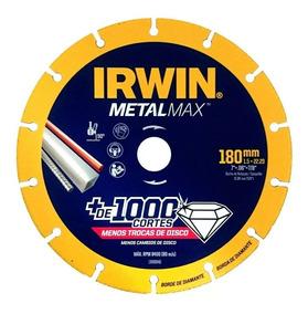 Disco Diamantado Corte Metalmax Ag 7x7/8 Irwin - 1 Inox