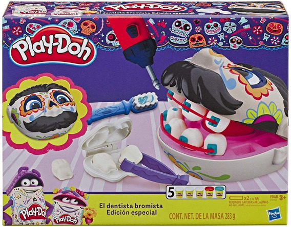 Dentista Bromista Play-doh Día De Muertos