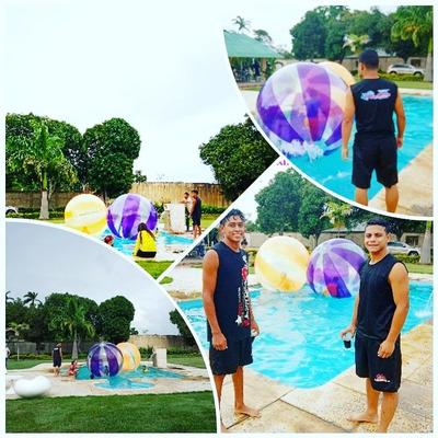 Esferamania: Piscina Waterball Tobogan Esferas Lanchas Y +