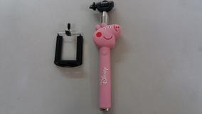 Bastão Pau Selfie Universal Pepa Pig