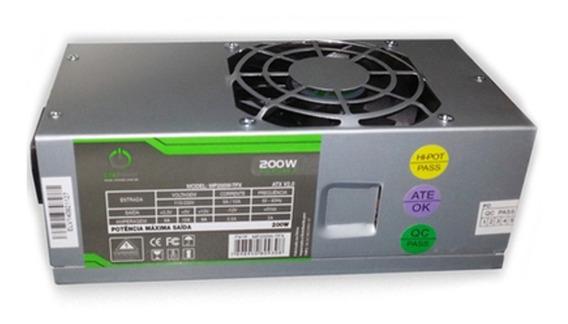 Fonte Atx Tfx 200w Reais One Power Mp200w-tfx V2.0 20/24pino