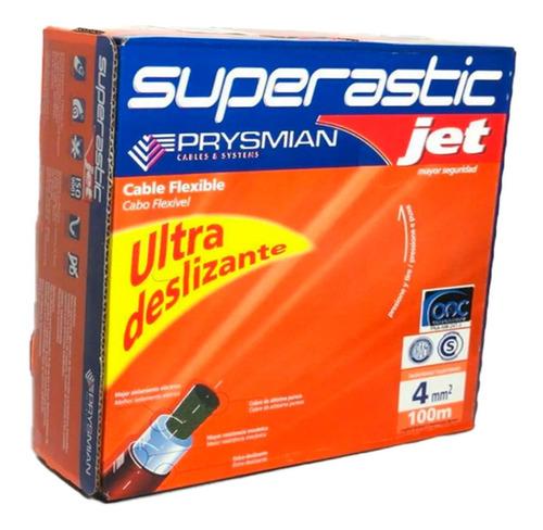 Imagen 1 de 5 de Cable 4mm Unipolar Superastic  Prysmian X100mts