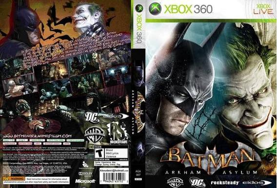 Batman Arkham Asylum Xbox 360 Desbloqueado Lt3.0