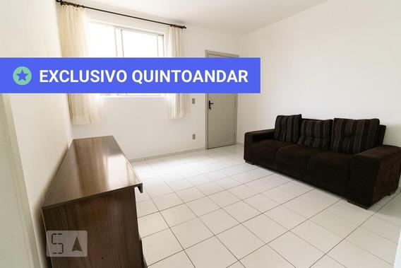 Apartamento No 3º Andar Com 2 Dormitórios E 1 Garagem - Id: 892980443 - 280443