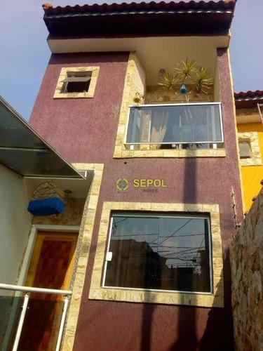 Sobrado Com 3 Dormitórios À Venda Por R$ 710.000,00 - Jardim Nossa Senhora Do Carmo - São Paulo/sp - So0320