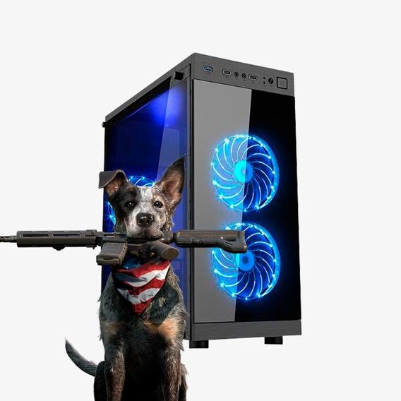 Pc Gamer Intel Core I7, Rx 570 8gb, Hd 1tb, 16gb Ram
