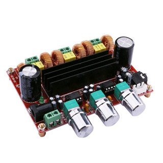 Modulo Amplificador Audio 2.1 - 2x50w + 1x100w Tpa3116d2 / Control De Volumen De Mezcla Y Subwoofer