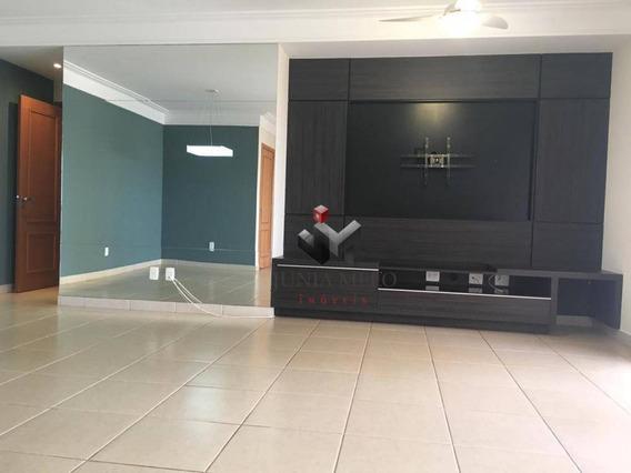 R$ 800.000,00 - Ed Dinamarca - Apartamento Com 3 Dormitórios À Venda, 142 M² Por - Jardim São Luiz - Ribeirão Preto/sp - Ap1385