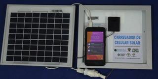 Carregador Celular Solar