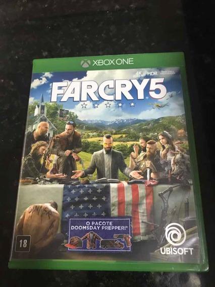 Jogo Xbox One Farcry 5 Original Mídia Física