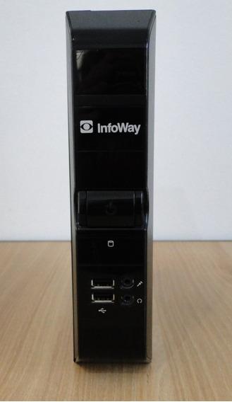 Thin Client Mini Cpu Intel Atom 4 Gb Hd 320 Gb Infoway