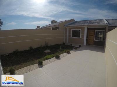 Casa Para Venda Em Fazenda Rio Grande, Eucaliptos-greenfield, 2 Dormitórios, 1 Banheiro, 2 Vagas - 973